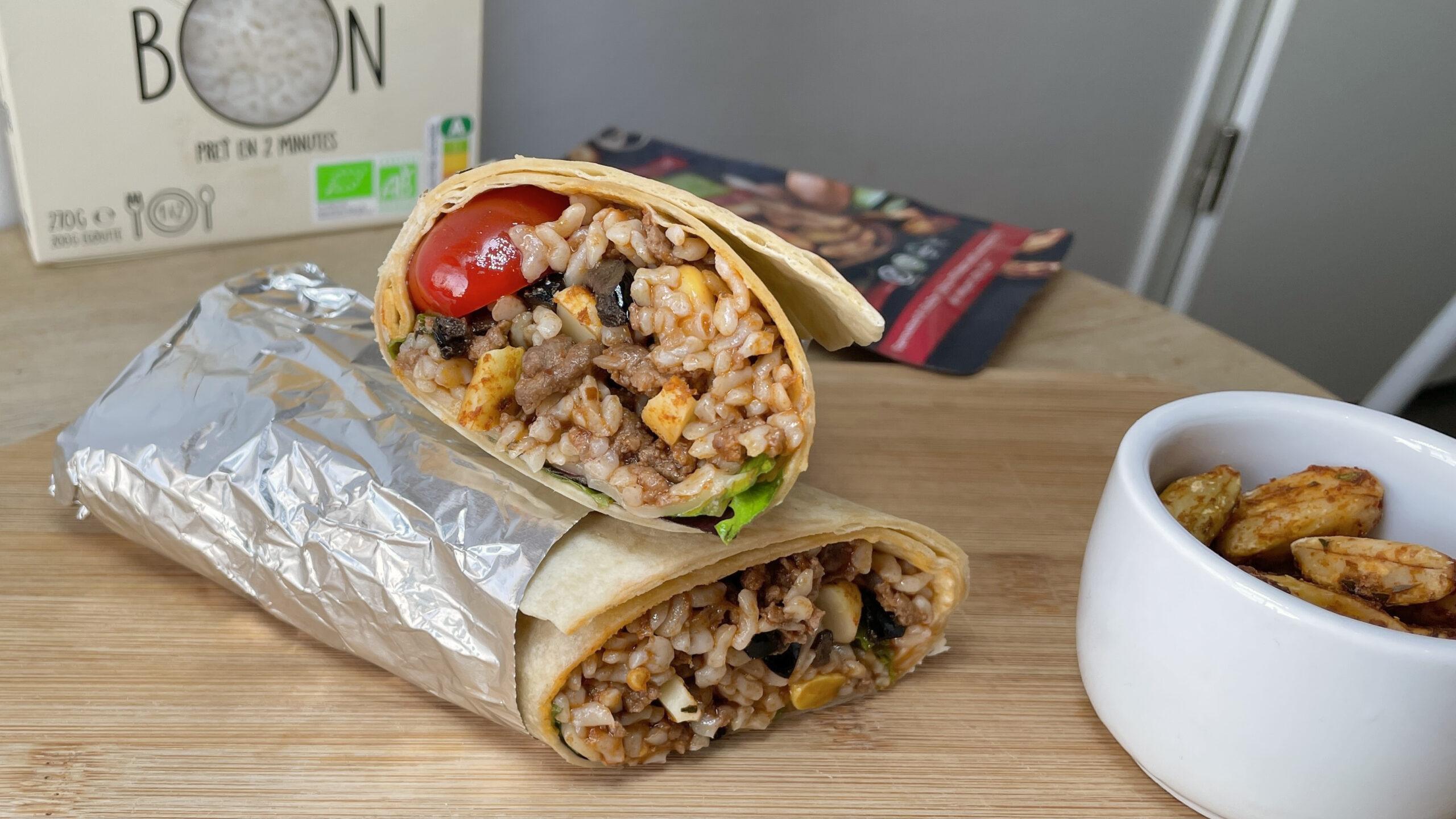 Burrito keto