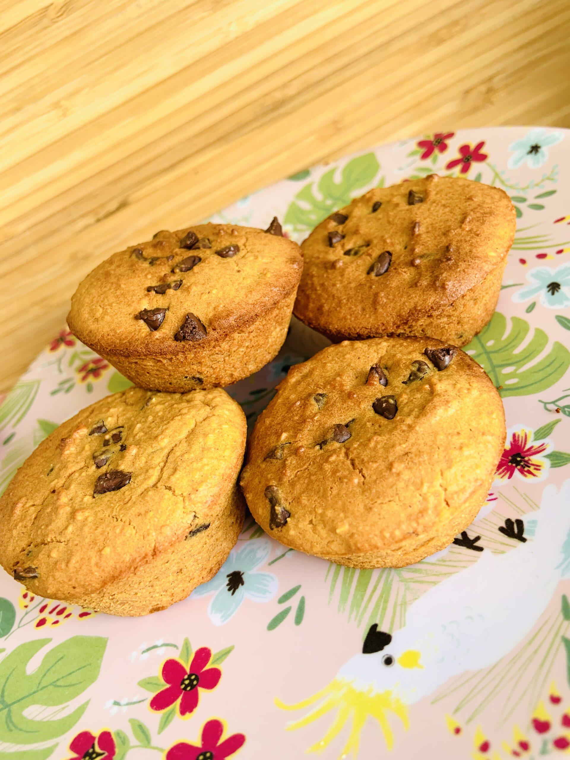 muffin keto farine de cacahuète
