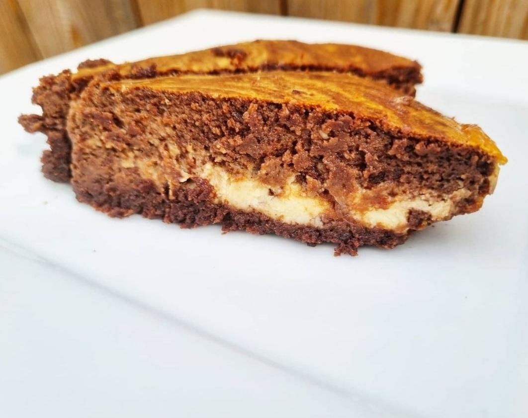 Le gâteau marbré keto