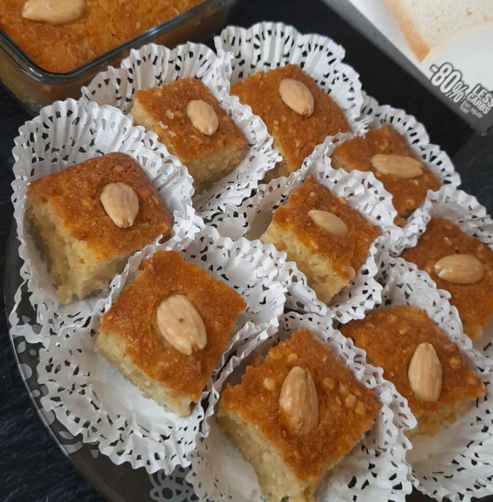 gâteau aux biscottes keto
